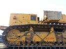 Погрузка и отправка на жд платформе трубоукладчика KOMATSU D355C-3. Негабаритность груза H2200
